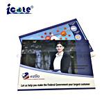 Nieuwste Ontwerp de Video VideoBrochure prentbriefkaar-LCD van 4.3 Duim