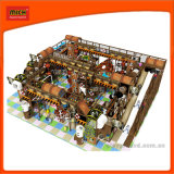 Ce grand thème utilisé à l'intérieur de l'équipement de terrain de jeux pour enfants Aire de jeux intérieur doux Labyrinthe Labyrinthe d'équipement pour la vente