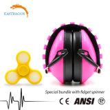 Los niños barata protección auditiva diadema orejeras de PVC para el bebé