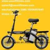 Велосипед высокого качества электрический складывая с извлекает батарею