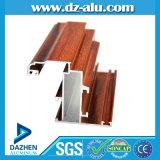 Профиль популярной конструкции 6063 T5 алюминиевый для зерна окна анодированного дверью деревянного
