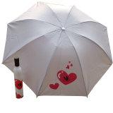3 [فولدبل] جميل ترويجيّ هبة مادّة دليل استخدام مفتوح زجاجة مظلة