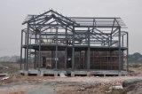 Bequemes lebendes vorfabriziertes Stahlkonstruktion-Rahmen-Landhaus