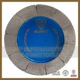 Het Satelliet Malende Wiel van de diamant voor de Plakken van het Graniet/Schurend Hulpmiddel die oppoetsen
