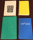 Los folletos de papel de piedra y portátiles.