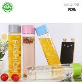 Низкая цена моды прозрачный пластиковый фруктовый сок воды 400 мл