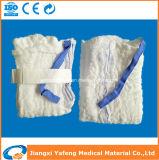 純粋で柔らかく使い捨て可能な医学の外科ラップのスポンジか承認される腹部の綿棒セリウム及びISO (YF-LS402618-454504S)
