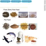 China automática de alimentos para peixes flutuante prensa de extrusão de Pelotas