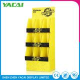 Conectar la pantalla de papel Floor-Type Rack Stand el stand de exposiciones