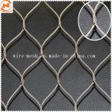 Resistente al óxido Óxido negro de malla de alambre de la cuerda de acero inoxidable
