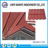 新しいデザイン波形の現代タイプ石の上塗を施してある金属の屋根瓦