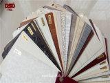 Pellicola di legno laminata calda o fredda del grano del PVC