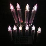 Lumière de bougie de Noël de DEL pour la maison
