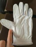 Таможня людей перчаток гольфа овчины OEM Смещать-Упорная белая кожаный