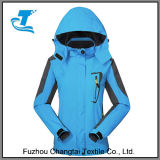 Nuevo Diseño Exterior montañero de caparazón blando encapuchados chaquetas de viajes