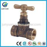 Tipo válvula de Melco de parada de cobre amarillo del control/válvula de ángulo de cobre amarillo con la ISO