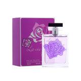 Frasco roxo de Rosa da cor para o perfume fresco para a senhora nova uso diário