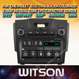 Tela de Toque do Windows Witson aluguer de DVD para Chevrolet S10 Colorado Bandeirante Lt Ltz 2013