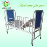 Ferrocarril de alta ajustable a los niños del Hospital cama Cuna de bebé carro