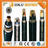El alambre eléctrico 1.5 2.5 milímetros no forró el cable de cobre aislado PVC de la corriente eléctrica del conductor