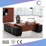 Ufficio moderno L Tabella esecutiva della mobilia di figura con la Tabella laterale (CAS-MD18A93)