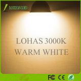 新しいデザイン4.5W GU10 LEDスポットライト3000K 6000K 120度によって引込められる省エネLEDの電球