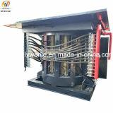 Châssis en acier de fréquence intermédiaire four à induction de l'acier les fonderies de métaux