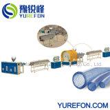 PVC 섬유 기계 밀어남 선을 만드는 나선에 의하여 강화되는 호스 관