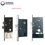 El recubrimiento PVD Smart de bloqueo de puertas de aluminio
