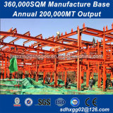 Aprovado pela CE fácil de instalar grandes Span Estruturas de Aço