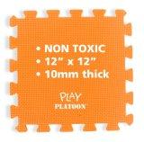 Non-Toxic 9 piezas de puzzle de suelo de espuma esterillas de bloqueo