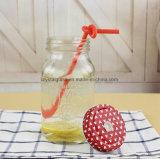 Esvazie o mel geléia de congestionamento de vidro de armazenamento Mason Copo com tampa