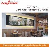 57.5 Duim TFT ultra rekte de Staaf wijd Uitgerekte Speler van HD LCD, LCD de Vertoning van de Reclame van de Advertentie uit