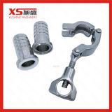 Montaggio di tubo flessibile igienico dell'acciaio inossidabile di SS304 Od42mm senza gomma