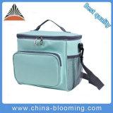 Мода синий полиэстер плечо изолированный Пикник мешок охладителя