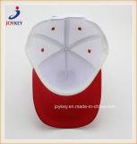 Moda Sarjado 100% algodão cor branco comum6 painéis com pala-Vermelho