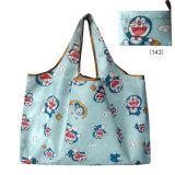 Saco de Arrumação dobrável, One-Shoulder Portable grande bandeja espessadas Eco-Friendly saco, Sacola de Compras de supermercado.