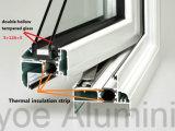Finestra di scivolamento termica di alluminio economizzatrice d'energia della rottura dell'isolamento termico di isolamento acustico