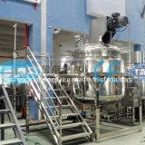 De de Vloeibare Zeep van de Prijs van de fabriek 500L/Lotion van de Room/het Verwarmen van de Shampoo de Elektrische Vacuüm Emulgerende Machine van de Homogenisator van de Mixer