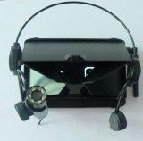 Mini Cámara inalámbrica de 2,4 Ghz/LED infrarrojos de visión nocturna con DVR cámara titular de la auricular