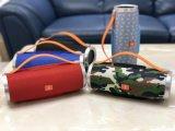 赤い暗藍色の花の携帯用スピーカーの無線Bluetoothのスピーカー