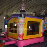 Prinzessin Inflatable Castle Bouncer mit Plättchen für Verkauf