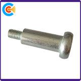 En acier au carbone à six pans creux M6 (Allen) vis à épaulement de zinc de placage