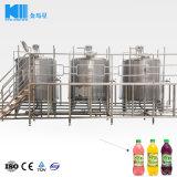 自動小さいペットガラスビンの天然水/静かに炭酸飲料の飲み物/フルーツジュースの熱い満ちるびん詰めにする作成装置/生産ライン