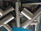 Alimentos soldada de acero inoxidable de grado igual t accesorios de tubería (JN-FT1011)