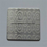 Patrón de vibración grabado químico de la placa de metal decorativos de acero inoxidable