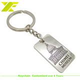 Fabricant de l'émail de métal de la chaîne de clés personnalisé avec un logo (KC09)