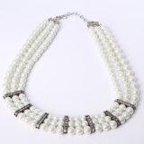 Collana in rilievo dei monili della perla di modo di qualità