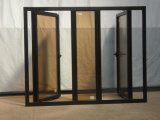 Alta calidad y precio razonable salto térmico de aluminio ventanas de cristal