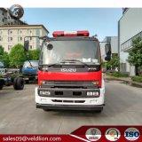 Nuovo camion di lotta antincendio del serbatoio della gomma piuma del serbatoio di acqua 2m3 del giapponese 6m3
